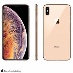 IPhone XS 64gb - Gold - Anatel - Novo - 1 ano de garantia