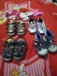 Calçados infantis tam.19