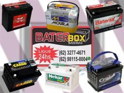Baterias automotivas em promoção a partir de 129,00