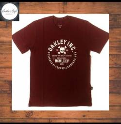 e98cdb573f Camiseta Oakley original - bordô