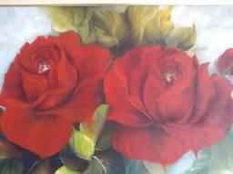 Quadro lindo de rosas