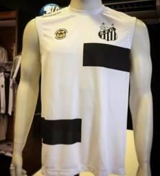 Uniforme de treino camisa e shorts Kappa Santos Fc 2b7471b5e4bfc