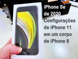 Apple iPhone SE 2020, 64GB, Tela 4,7p, Garantia 1 ano, NF, Lacrado, Anatel, Vermelho