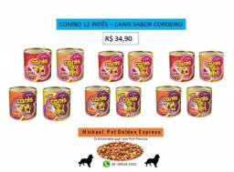 Combo 12 patês Canis - sabor Cordeiro