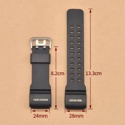 Pulseira Para Relógio Casio G-shock, Skmei, Tático 23cm