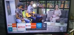Smart tv Samsung 32 polegada Full HD com wi-fi