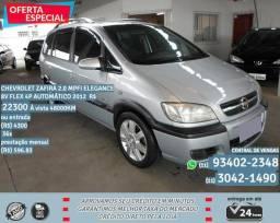 Prata Chevrolet Zafira 2.0 Mpfi Elegance 8V Flex 4P Automático 2012 R$ 22333 48088 KM comprar usado  São Paulo