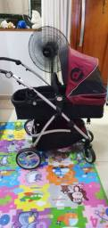 Carrinho de bebe +bebe conforto + base dzieco