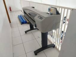Impressora Plotter HP Design JEt 500 - Largura de 90 cm