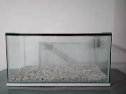 Aquário 100 litros - Novo - Vidro temperado 6mm