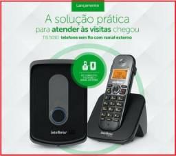 Interfone sem fio com ramal externo p/ Residencias e Empresas