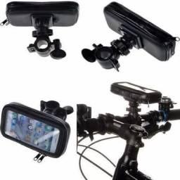 (WhatsApp) suporte p/ celular resistente à água - moto/bike