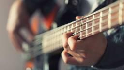Aula de violão , guitarra e contrabaixo