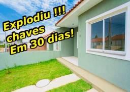Casas 2 quartos prontas para morar 100% financiadas chame agora agende sua visita!