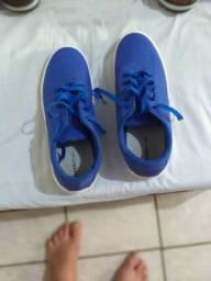 Tenis azul tamanho 43/44