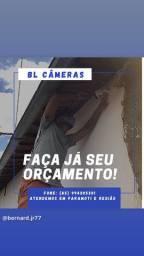 Instalação de câmeras e refletores em paramoti e região