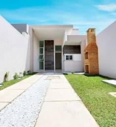 Casas Novas, em Pedras Messejana, 3 Qtos, 6m X 25m, Churrasqueira, Chuveirão e 2 Vagas
