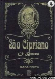 Livro São Cipriano capa preta