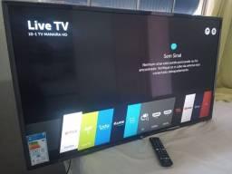 Título do anúncio: Smart tv 43 Pol LG com nota fiscal ainda está na garantia