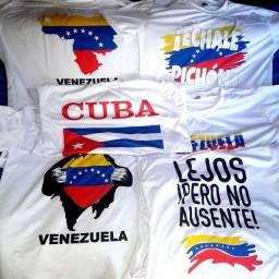 Camisas personalizadas de VENEZUELA