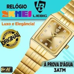 Relógio Skmei Mini Feminino Luxo - Original!