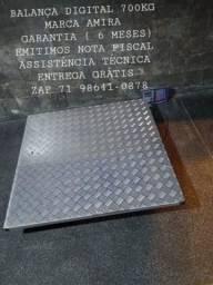 Título do anúncio: 700kg BALANÇA DIGITAL MODELO CHÃO NOVA GARANTIA EMITIMOS NOTA