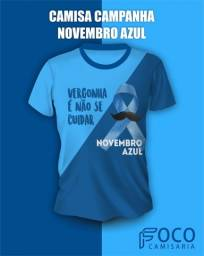 Título do anúncio: Camisa Campanha Novembro Azul