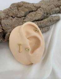 Piercing hélix - banhado