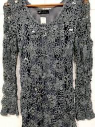 Título do anúncio: Vestido de festa em crochê  M