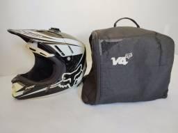 Capacete Fox V4 Carbon Motocross Trilha