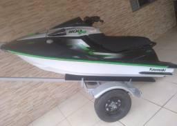 Título do anúncio: Jet ski Kawasaki zxi 1100cc 3 cilindros