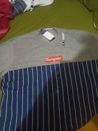 Camisa Masculina Gangster X3