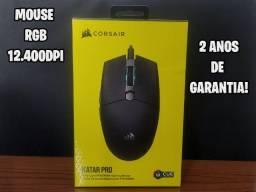 Título do anúncio: Mouse Gamer Corsair Katar Pro RGB 12400dpi [NOVO] / 2 anos de Garantia!