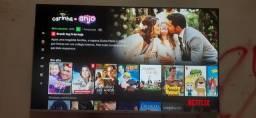 Título do anúncio: Smart tv philco 58 polegadas com comando de voz,5meses de uso,motivo da venda divorcio