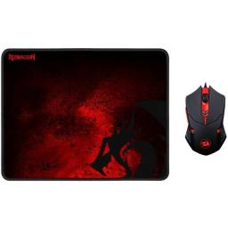 Kit Gamer Redragon Mouse + Mousepad - NOVO - Loja Física