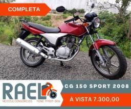 Título do anúncio: CG 150 Sport 2008