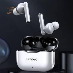 Fone de ouvido Lenovo Tws Bluetooth.
