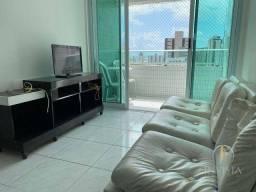 Título do anúncio: Apartamento com 2 dormitórios para alugar, 57 m² por R$ 2.000/mês - Tambaú - João Pessoa/P