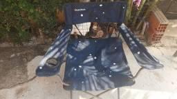 Cadeira desmontável
