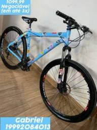 Bicicleta Track Bikes Aro 29 - 21 Marchas TKS 29 P Mountain