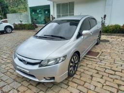 New Civic LXL SE 1.8  - Multimídia, Couro e GNV G5 - Oportunidade!