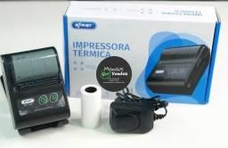 Título do anúncio: NOVIDADE Mini Impressora Térmica Portátil Bluetooth Marca Knup KP-1025