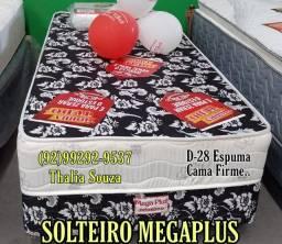 Título do anúncio: Cama box Solteiro D28, Cama Firme +++********