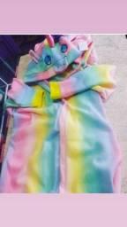 Pijama unicornio adulto e infantil