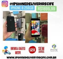 Título do anúncio: IPhone 8 256gb (Entrega Grátis Recife ) 12 x sem juros