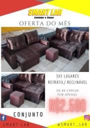 Título do anúncio: Smart lar sofá do jeitinho que vc quer!