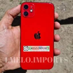 iPhone 11 Red 64GB Impecável | Cabo + fone + fonte originais sem uso | Garantia até 23/07