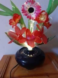 Luminária floral