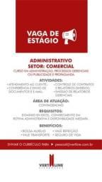 Título do anúncio: estagiário(a) administrativo