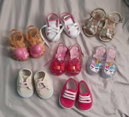 Sapato infantil menina(bebê)